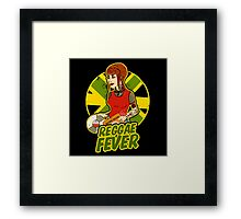 REGGAE FEVER Framed Print