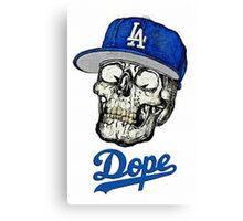 Skull Dope 2016 Designs Canvas Print