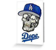 Skull Dope 2016 Designs Greeting Card