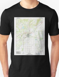 USGS TOPO Map Arkansas AR Bald Knob 257923 1994 24000 Unisex T-Shirt