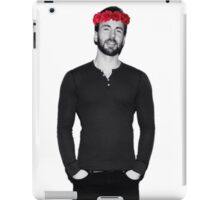 Chris Evans - Flowercrown iPad Case/Skin