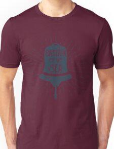 Retro Ship Bell Label Unisex T-Shirt