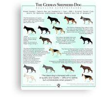 The German Shepherd Dog Canvas Print