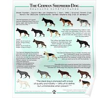 The German Shepherd Dog Poster