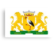 Coat of arms of The Hague Canvas Print