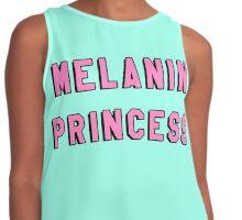 MELANIN PRINCESS | BLACK GIRL MAGIC QUOTE PRINT Contrast Tank