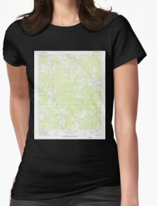 USGS TOPO Map Arkansas AR Relfs Bluff 259490 1973 24000 Womens Fitted T-Shirt