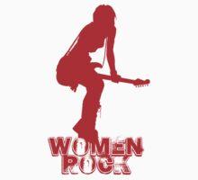 Women Rock Kids Tee