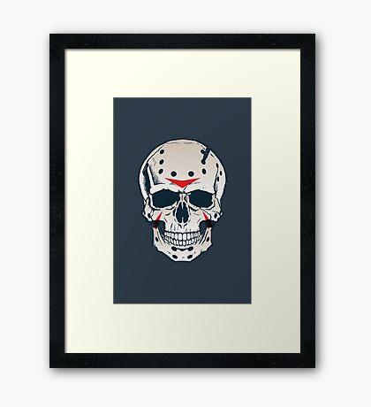 Dead-On Voorhees Framed Print