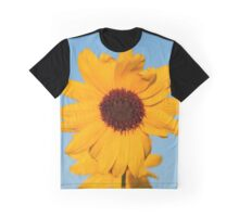 Warm and Sunny Sunflowers  Graphic T-Shirt