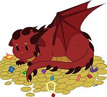 Baby Smaug by ivorynote
