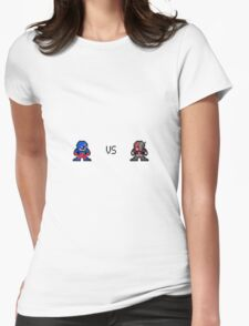 The Atom vs Antman Womens Fitted T-Shirt