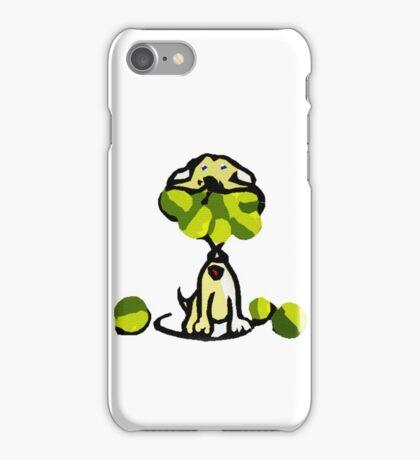 playful dog iPhone Case/Skin