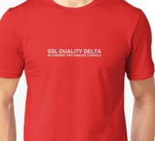 SSL Duality delta anlog console Unisex T-Shirt