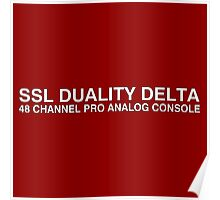 SSL Duality delta anlog console Poster