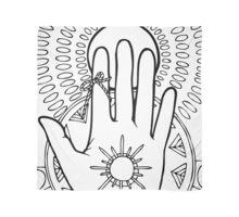 Philosopher's Hand - Mono Scarf
