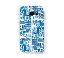 Blue Scandi Samsung Galaxy Case/Skin