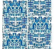 Blue Scandi Photographic Print