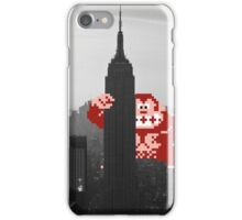 Donkey kong, NY Empire State building iPhone Case/Skin