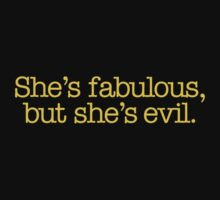 Mean Girls - She's fabulous, but she's evil One Piece - Short Sleeve