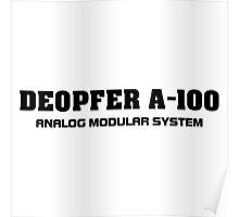 Vintage Deopfer A - 100 (black) Poster