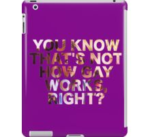 Greer iPad Case/Skin