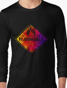 Flammable 1 Long Sleeve T-Shirt