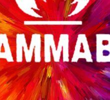 Flammable 1 Sticker