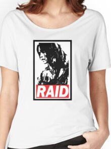 Tomb Raider Obey poster Women's Relaxed Fit T-Shirt