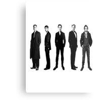 Sherlock cast in black and white Metal Print