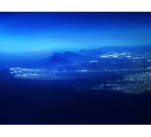 Misty Mountains Of El Salvador Photographic Print