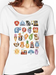ABC Blocks Women's Relaxed Fit T-Shirt