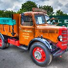 Bedford Dropside Tipper Truck by manateevoyager
