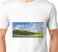 Longcombe Bottom, Bratton, Wiltshire, United Kingdom. Unisex T-Shirt
