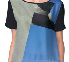 Figura abstracta Chiffon Top