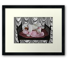 PRECIOUS MOMENTS IN TIME - BEARS SO SWEET ITS CUDDLE TIME Framed Print