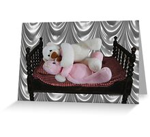 PRECIOUS MOMENTS IN TIME - BEARS SO SWEET ITS CUDDLE TIME Greeting Card