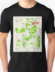 USGS TOPO Map Arkansas AR Newport 259238 1962 24000 Unisex T-Shirt
