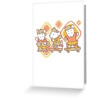 3 Brothers Kids Greeting Card