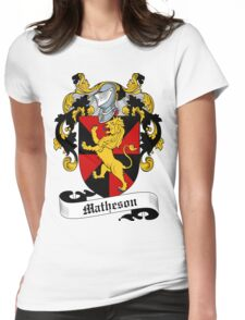 Matheson  Womens Fitted T-Shirt