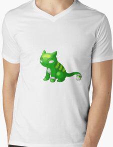 Pkmn Mens V-Neck T-Shirt