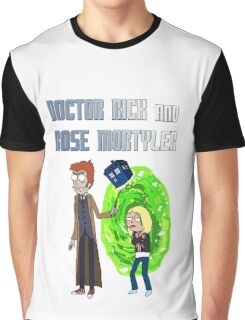 Doctor Rick and Rose Mortyler Graphic T-Shirt