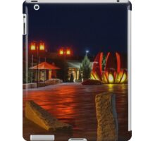 Night Time Approach to Golden Dragon Museum iPad Case/Skin