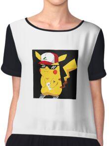 Ballin Pikachu Chiffon Top