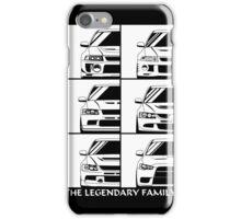 Mitsubishi Evolution. Legendary Family iPhone Case/Skin