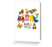 Baby Toy Greeting Card