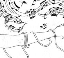 Music Gun Sticker