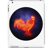 2017 fire cock (rooster) iPad Case/Skin