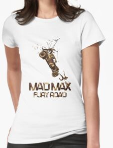 Mad Max Fury Road Art Womens Fitted T-Shirt