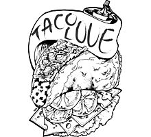 Taco Love Photographic Print